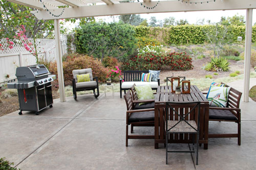 patio makeover by @janemaynard