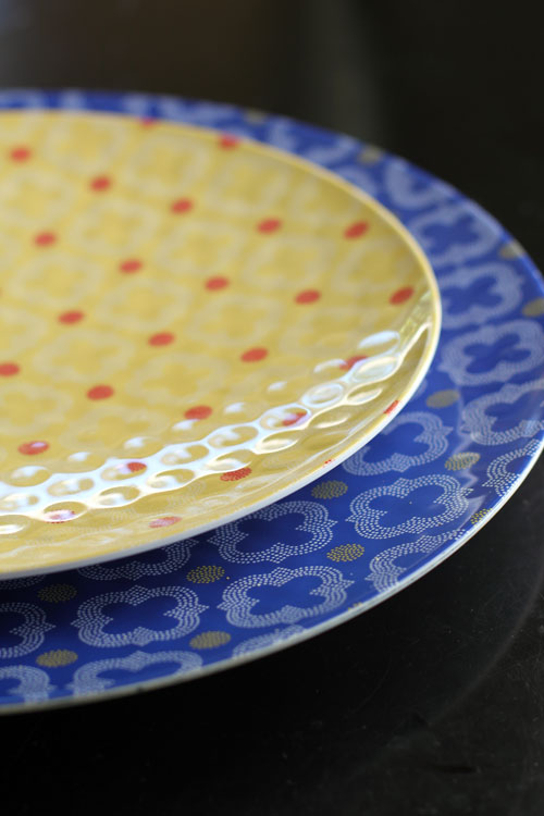 montecito melamine serving platters by q squared nyc by @janemaynard