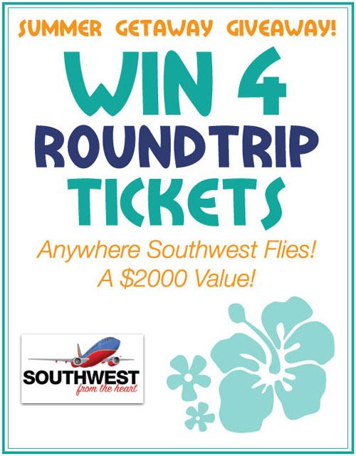southwest summer getaway giveaway from @janemaynard
