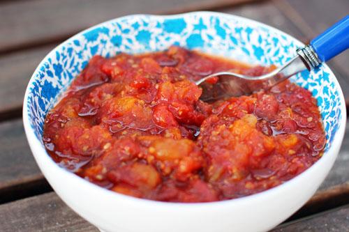 recipe for sweet tomato jam from @janemaynard | thisweekfordinner.com