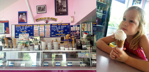 absolutely wonderful ice cream shop dairy swirl in vernon, nj by @janemaynard