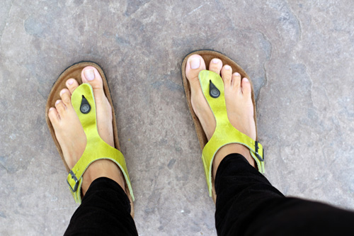 review of gizeh birkenstocks by @janemaynard (they rock!)