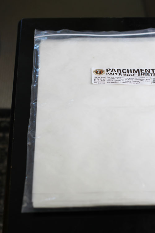 parchment paper sheets from king arthur flour by @janemaynard - you need these!