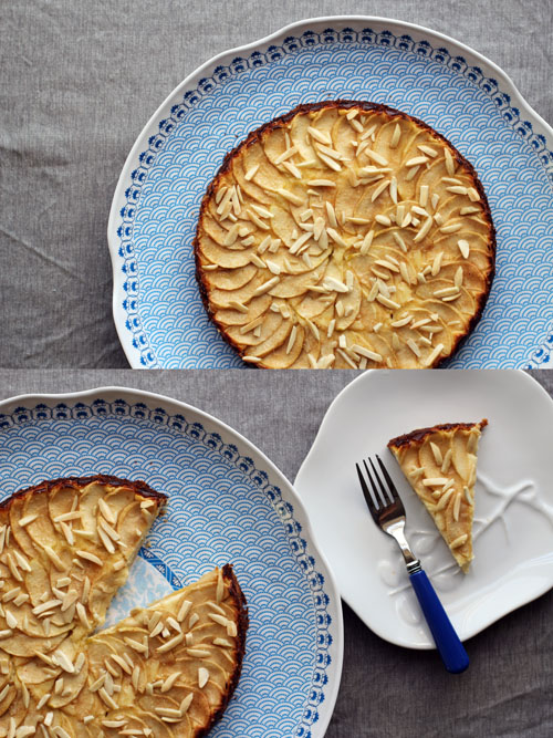 apple bavarian torte from @janemaynard