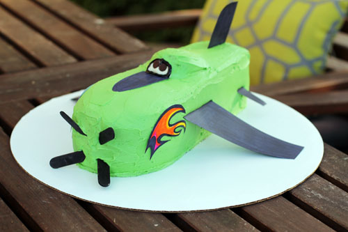how to make a kids airplane birthday cake by @janemaynard