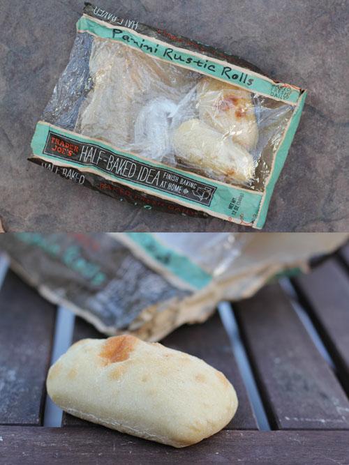 favorite sandwich bread from @janemaynard - trader joe's half-baked panini rustic rolls