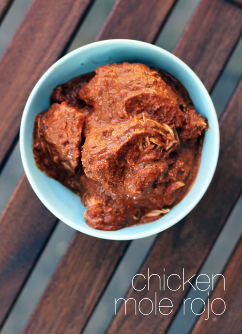 recipe for mexican chicken mole rojo by @janemaynard