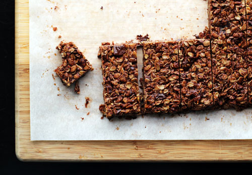 dark chocolate pumpkin seed granola bars by @janemaynard