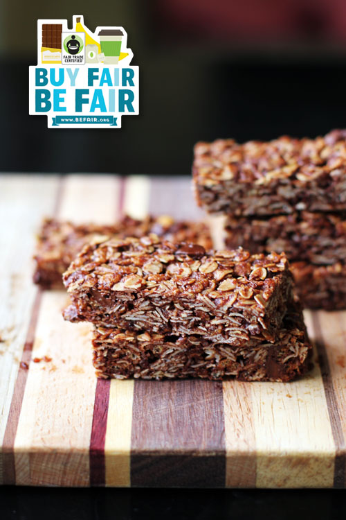 fair trade dark chocolate pumpkin seed granola bars from @janemaynard