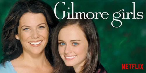 gilmore girls is on netflix!