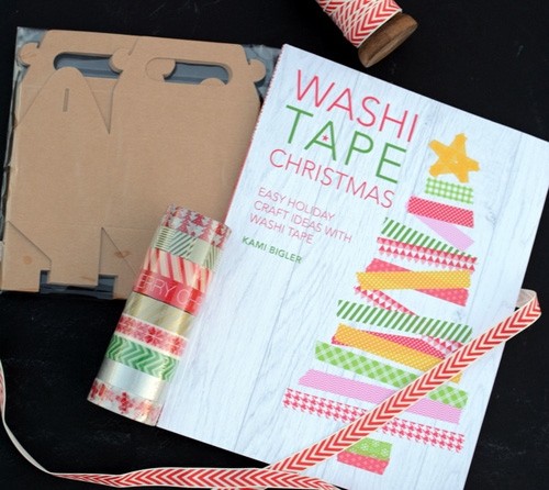 review of 'washi tape christmas' by kami bigler by @janemaynard - spoiler alert, it's great!
