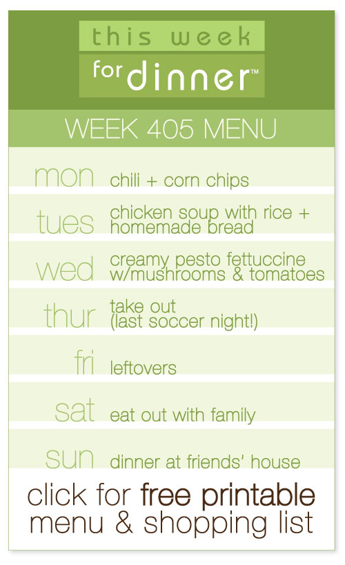 week 405 weekly menu by @janemaynard including FREE printable meal plan and shopping list!