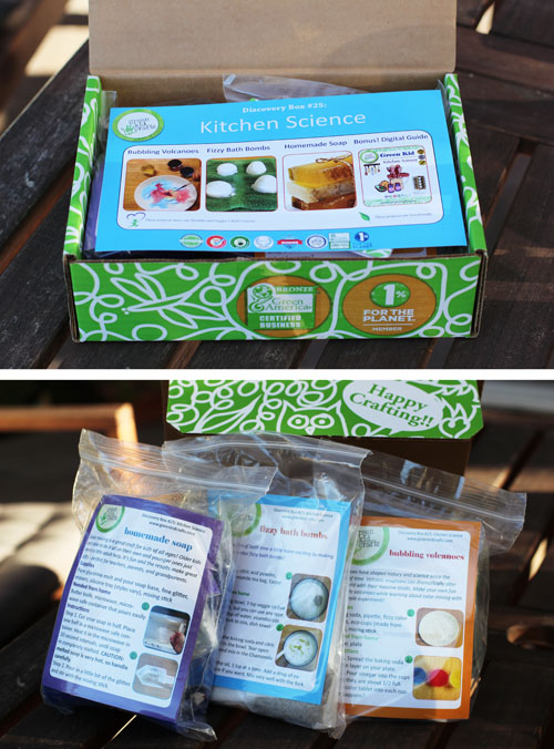 green kid crafts kitchen science box - review and giveaway from @janemaynard