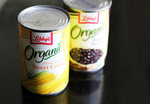 libby's organic canned veggies #spon