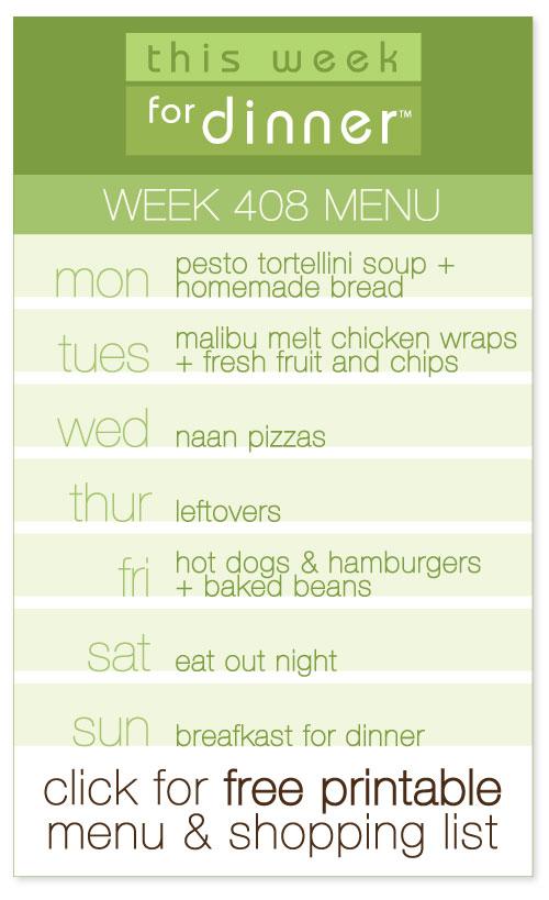 week 408 weekly men from @janemaynard including FREE printable meal plan and shopping list!