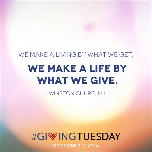 ways to support and celebrate giving tuesday from @janemaynard #givingtuesday