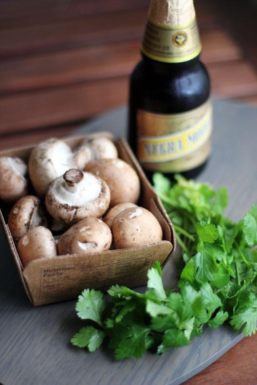 drunken mushrooms recipe by @janemaynard