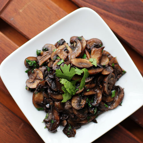 drunken mushrooms recipe by @janemaynard