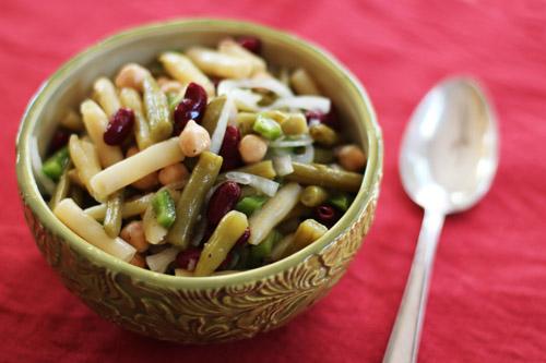 gram's 4-bean salad from @janemaynard