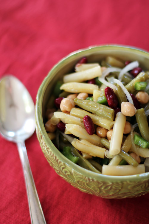 gram's 4-bean salad from @janemaynard