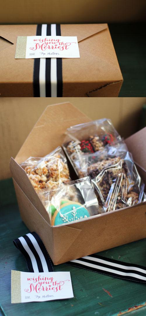 nikki's christmas cookie box 2014