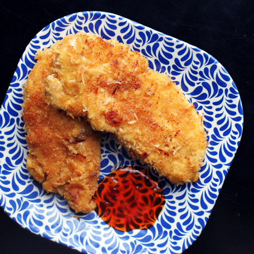 coconut chicken tenders from @janemaynard - easy and scrumptious!