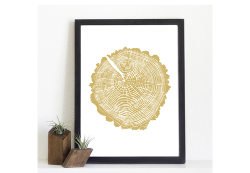 light & ink's stump prints - spring hollow gold - found by @janemaynard