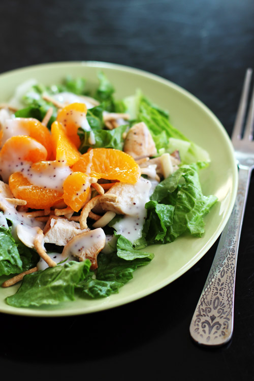 pat's asian chicken salad - a DELICIOUS and easy go-to dinner! from @janemayanrd