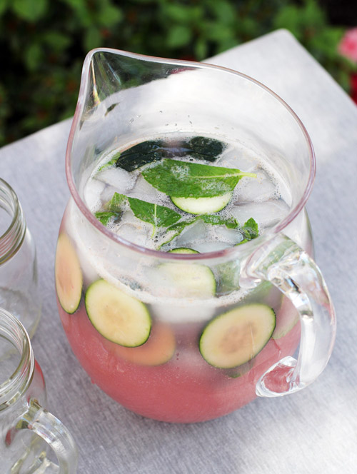 strawberry mint fizz from @janemaynard