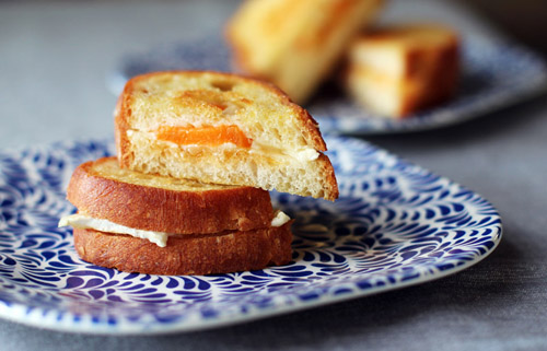 apricot brie grilled cheese from @janemaynard