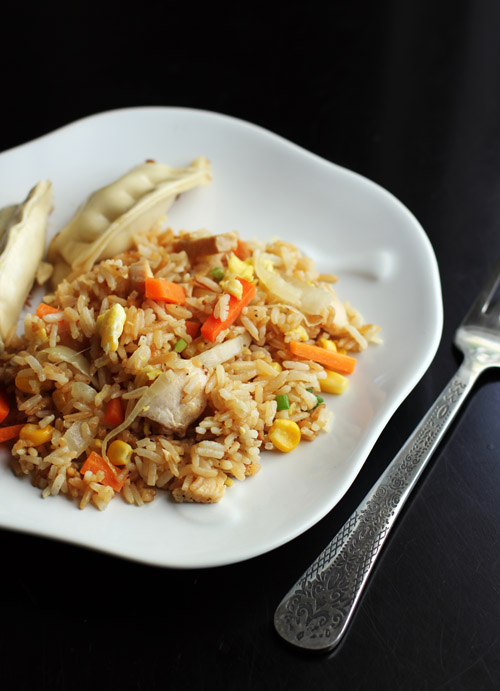 recipe for homemade fried rice from @janemaynard - a perfect way to use up leftovers!