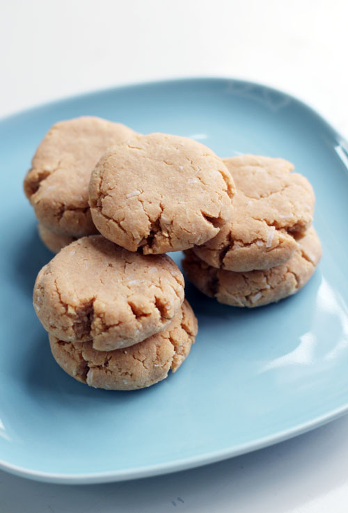 fairt trade gluten-free coconut lime shortbread from @janemaynard