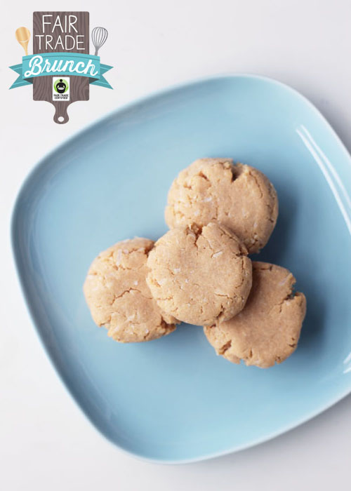 fairt trade gluten-free coconut lime shortbread from @janemaynard #fairmoms