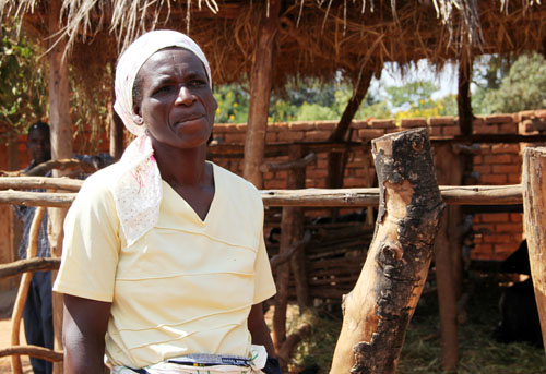 snapshots from malawi: farmer luiza mzungu | from @janemaynard