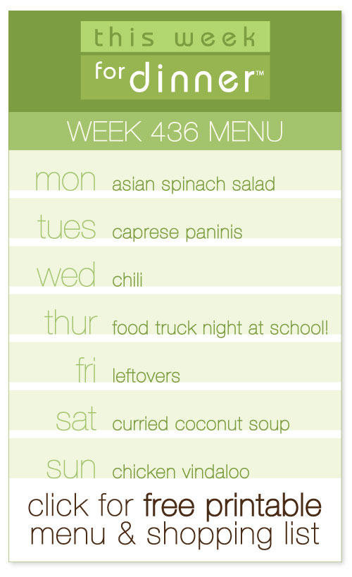 week 436 weekly menu from @janemaynard - includes FREE printable meal plan and shopping list!