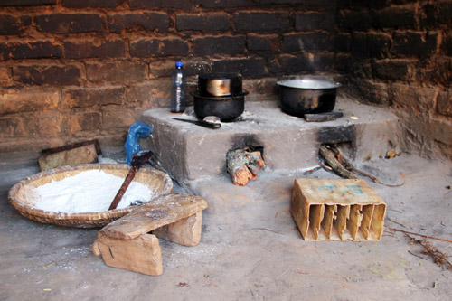 snapshots from malawi: electricity in malawi, village kitchen | from @janemaynard