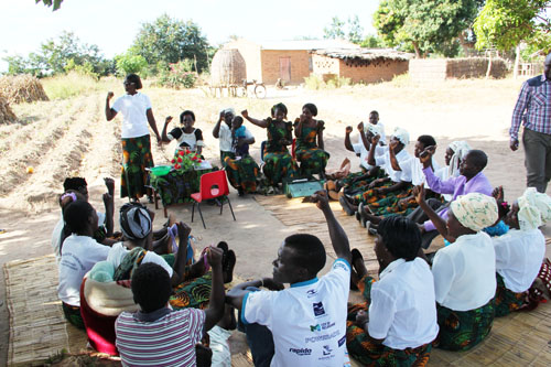 Snapshots from Malawi - Village Savings and Loan Group