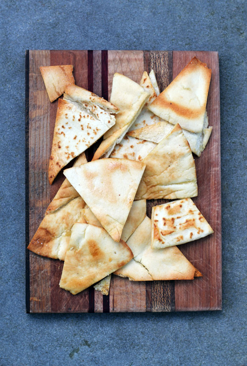 super easy and scrumptious homemade pita chips by @janemaynard