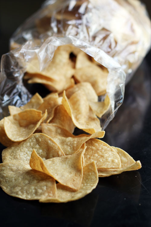 why grocery store tortilla chips are the best!