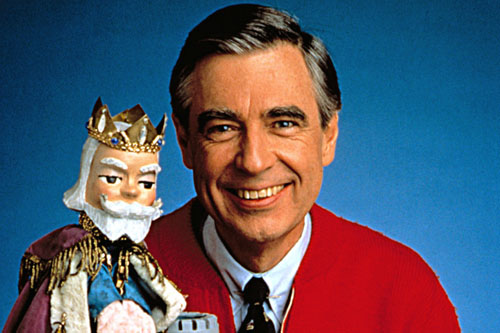 mr. rogers' neighborhood on netflix!