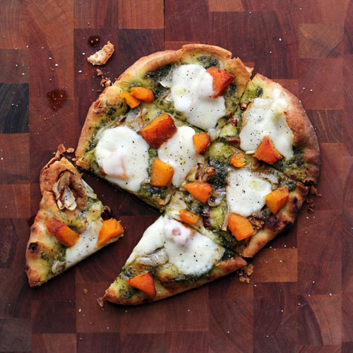 pumpkin pesto flatbread from @janemaynard