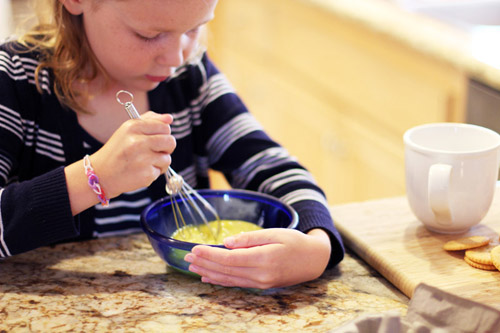 kids can cook it! quiche in a mug from @janemaynard