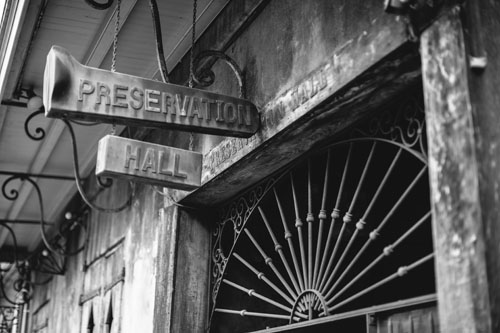 Preservation Hall | New Orleans | Photo Credit: Cora Wallin