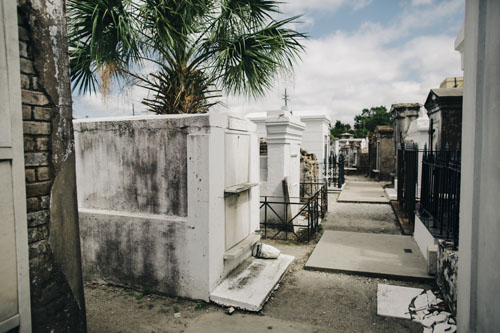 St Louis #1 Cemetery in New Orleans | Photo Credit: Cora Wallin