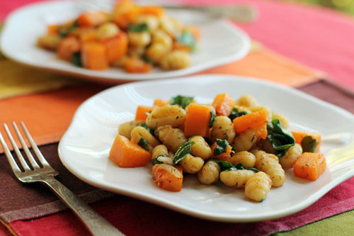 Brown Butter Gnocchi with Butternut Squash by @janemaynard