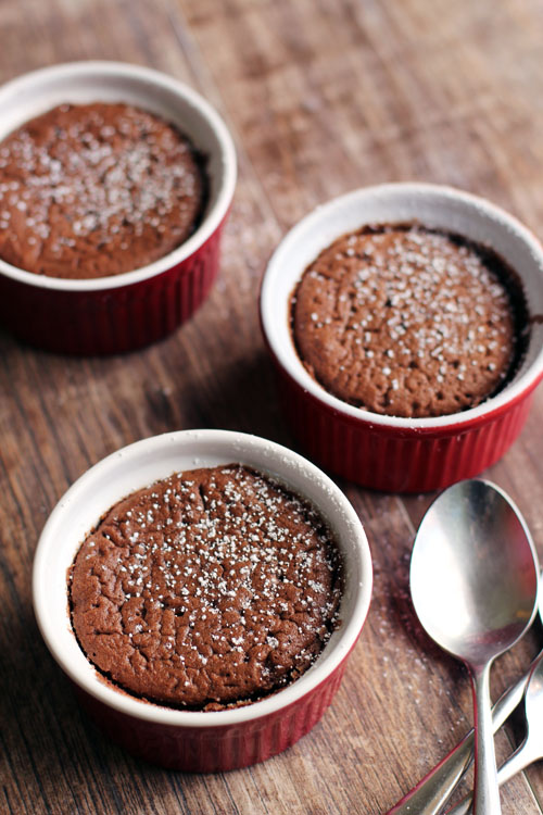 recipe for chocolate lava cakes + a giveaway for fair trade month from @janemaynard