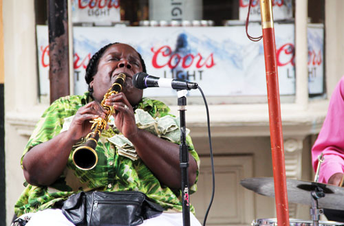 Doreen Ketchens, Jazz Artist, in New Orleans by @janemaynrad