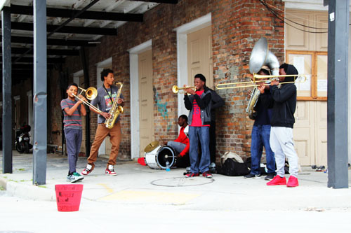 The Hundreds Brass Band in New Orleans by @janemaynard