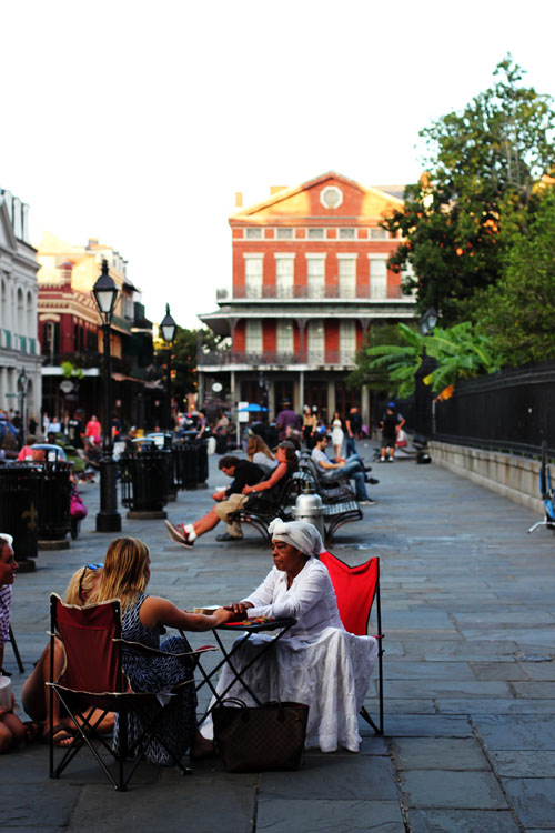 Jackson Square | What to Eat in New Orleans by @janemaynard