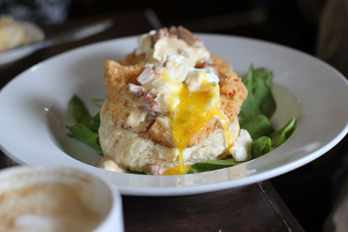 Chicken St. Charles from Ruby Slipper Cafe in New Orleans | from @janemaynard